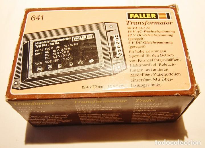Faller 180641 transformador 50 va 50-60hz Artículo nuevo