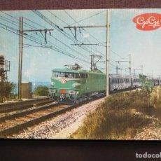 Trenes Escala: ANTIGUO TREN ELÉCTRICO GEGE H0 L'AQUILON (LEER). Lote 104029695