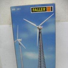 Trenes Escala: FALLER REF: 130381 - MOLINO DE AIRE EÓLICA ACCESORIOS PARA MAQUETA - ESCALA H0. Lote 104353483
