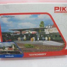 Trenes Escala: PIKO HOBBY REF: 61821 - ESTACIÓN ACCESORIOS PARA MAQUETA - ESCALA H0. Lote 104623755