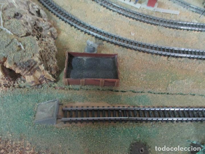 Trenes Escala: Bonita Maqueta Antigua - Ibertren - Escala 3N - Diorama - Estación Salou - Años 70 - Foto 6 - 104682683