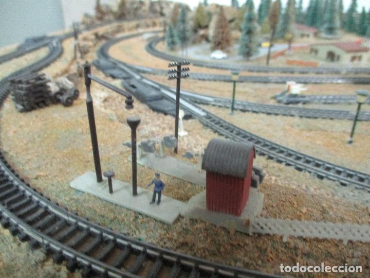 Trenes Escala: Bonita Maqueta Antigua - Ibertren - Escala 3N - Diorama - Estación Salou - Años 70 - Foto 9 - 104682683