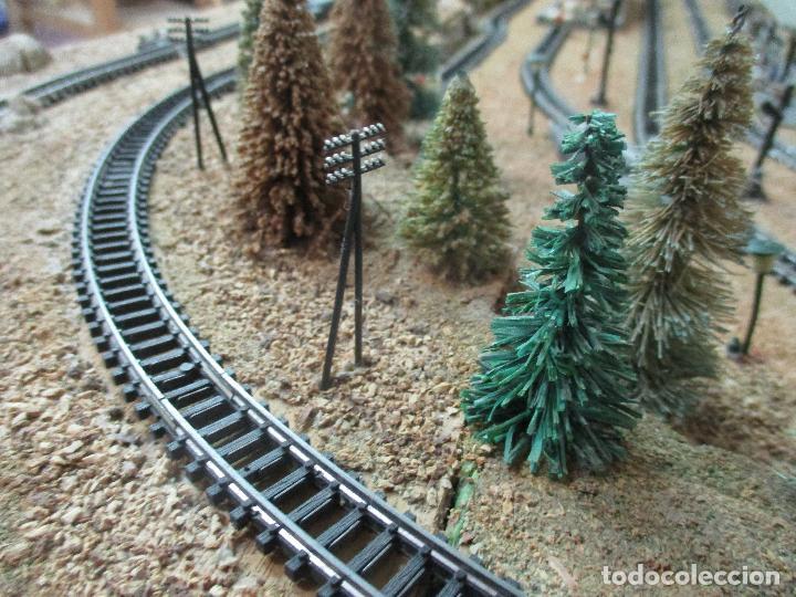 Trenes Escala: Bonita Maqueta Antigua - Ibertren - Escala 3N - Diorama - Estación Salou - Años 70 - Foto 16 - 104682683