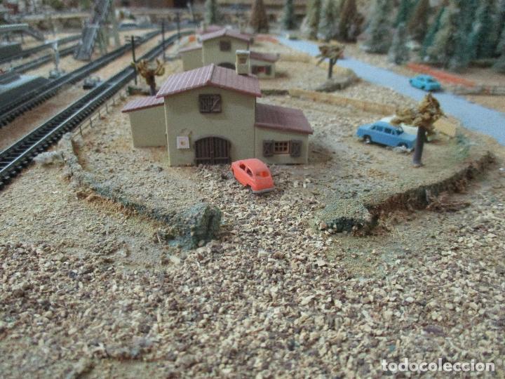 Trenes Escala: Bonita Maqueta Antigua - Ibertren - Escala 3N - Diorama - Estación Salou - Años 70 - Foto 20 - 104682683