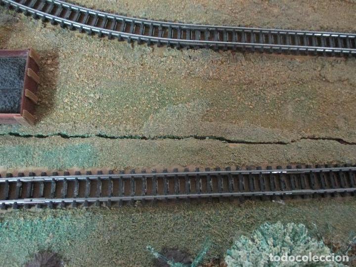 Trenes Escala: Bonita Maqueta Antigua - Ibertren - Escala 3N - Diorama - Estación Salou - Años 70 - Foto 36 - 104682683