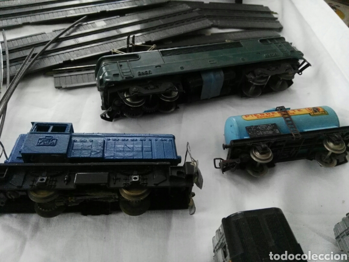 Trenes Escala: Gran lote despiece trenes vias vagones Jouef - Foto 4 - 104956764