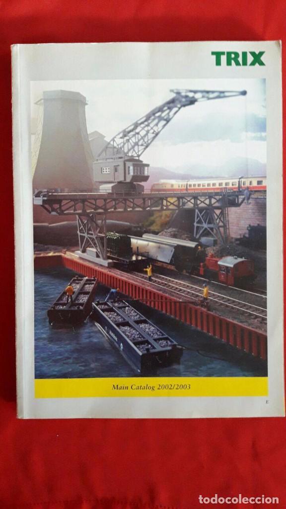 CATALOGO DE MAQUETAS Y TRENES TRIX / 2002-2003 / EN INGLÉS (Juguetes - Trenes - Varios)