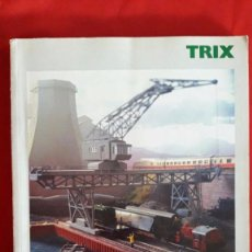 Trenes Escala: CATALOGO DE MAQUETAS Y TRENES TRIX / 2002-2003 / EN INGLÉS. Lote 105235035