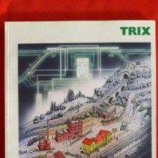 Trenes Escala: CATALOGO DE MAQUETAS Y TRENES TRIX / 2004 / EN INGLÉS. Lote 105235099
