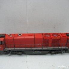 Trenes Escala: MEHANO - LOCOMOTORA DIESEL VOSSLOH RAILION MAK 2000 BB CORRIENTE CONTINUA - ESCALA H0. Lote 106083619