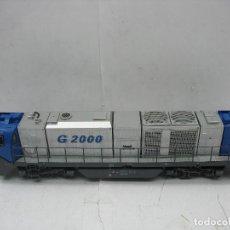Trenes Escala: MEHANO - LOCOMOTORA DIESEL G 2000 MAK CORRIENTE CONTINUA - ESCALA H0. Lote 106213355