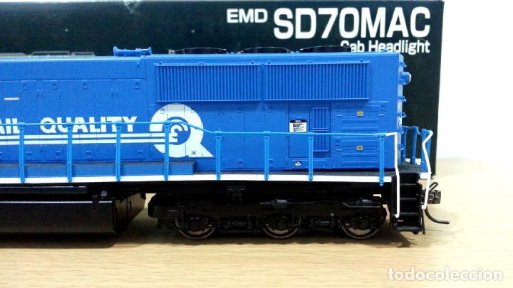 Trenes Escala: Locomotora Kato EMD SD70MAC Conrail #4137 Escala H0 - Foto 7 - 106677023