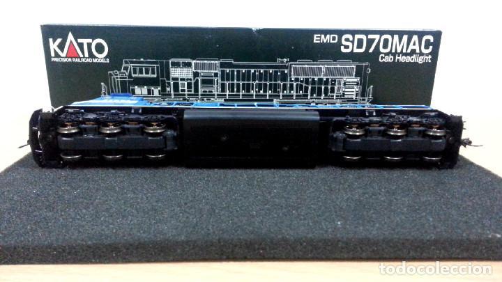 Trenes Escala: Locomotora Kato EMD SD70MAC Conrail #4137 Escala H0 - Foto 11 - 106677023