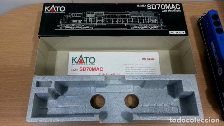 Trenes Escala: Locomotora Kato EMD SD70MAC Conrail #4137 Escala H0 - Foto 12 - 106677023