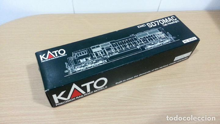 Trenes Escala: Locomotora Kato EMD SD70MAC Conrail #4137 Escala H0 - Foto 14 - 106677023