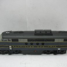 Trenes Escala: BACHMANN - LOCOMOTORA AMERICANA DIESEL BALTIMORE AND OHIO CORRIENTE CONTINUA - ESCALA H0. Lote 106693919