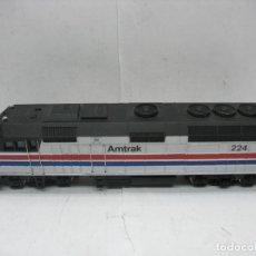 Trenes Escala: BACHMANN - LOCOMOTORA AMERICANA DIESEL AMTRAK 224 CORRIENTE CONTINUA - ESCALA H0. Lote 106694263