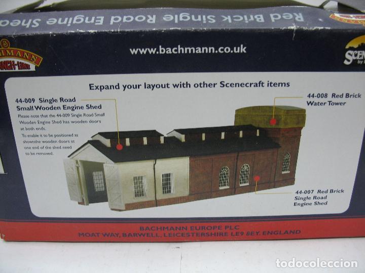 Trenes Escala: Bachmann - Almacén cochera accesorios para maqueta - Escala H0 - Foto 3 - 106915131