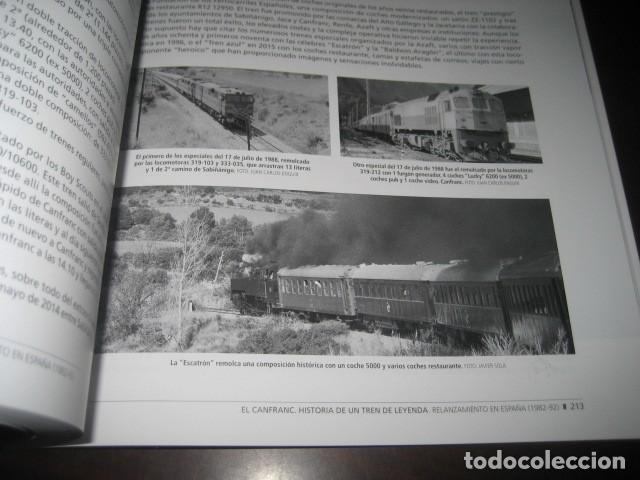 Trenes Escala: LIBRO EL CANFRANC HISTORIA DE UN TREN DE LEYENDA. TRENES FERROCARRIL. POR ALFONSO MARCO - Foto 2 - 203837973