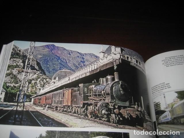 Trenes Escala: LIBRO EL CANFRANC HISTORIA DE UN TREN DE LEYENDA. TRENES FERROCARRIL. POR ALFONSO MARCO - Foto 4 - 203837973