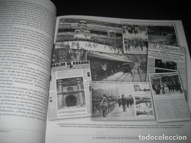 Trenes Escala: LIBRO EL CANFRANC HISTORIA DE UN TREN DE LEYENDA. TRENES FERROCARRIL. POR ALFONSO MARCO - Foto 9 - 203837973
