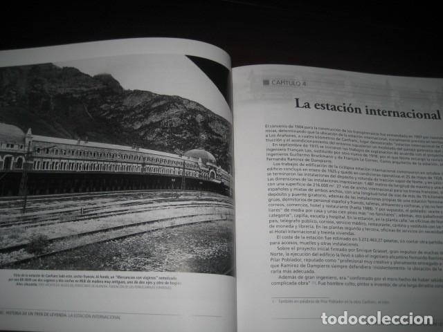Trenes Escala: LIBRO EL CANFRANC HISTORIA DE UN TREN DE LEYENDA. TRENES FERROCARRIL. POR ALFONSO MARCO - Foto 12 - 203837973