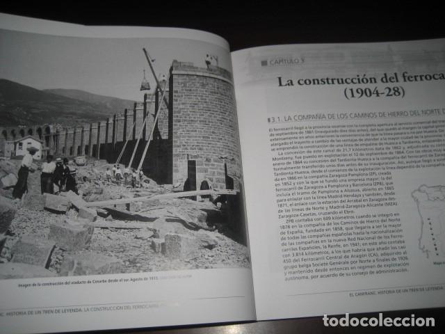 Trenes Escala: LIBRO EL CANFRANC HISTORIA DE UN TREN DE LEYENDA. TRENES FERROCARRIL. POR ALFONSO MARCO - Foto 13 - 203837973