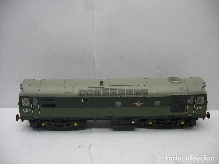 BACHMANN - LOCOMOTORA DIESEL D7646 CORRIENTE CONTINUA - ESCALA H0 (Juguetes - Trenes Escala H0 - Otros Trenes Escala H0)