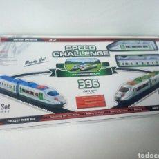 Trenes Escala: SPEED CHALLENGE SET DE TREN ELECTRICO. Lote 107577464