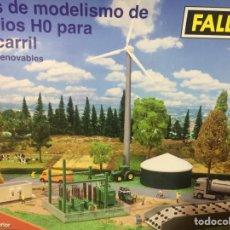 Trenes Escala: MAQUETA FALLER TREN ESCALA HO, ENERGIA RENOVABLES SIN ABRIR.. Lote 47809212