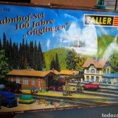 Trenes Escala: MAQUETA FALLER. ESTACION DE TREN.. Lote 110098687