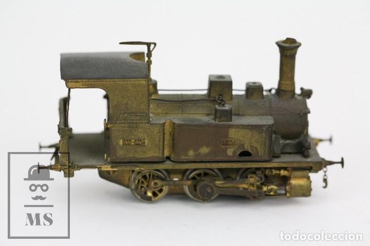 Trenes Escala: Locomotora de Tren de Vapor Eléctrica - RENFE Tarraco 030-0204 - Escala H0 / HO - Latón para Pintar - Foto 5 - 110527239
