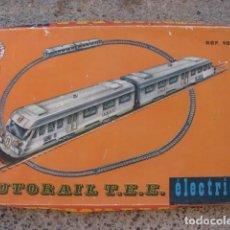 Trenes Escala: TREN AUTORAIL HO T.E.E. - FRANCE JOUETS - FJ FRANCE 1044. Lote 110784839