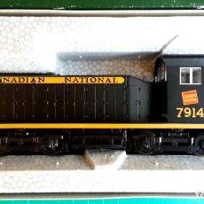 Trenes Escala: LOCOMOTORA KATO EMD NW2 CANADIAN NATIONAL #7914 ESCALA H0 (NUEVA). Lote 111069823