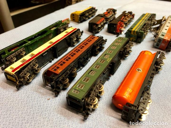 Trenes Escala: Lote Ibertren locomotoras vagones - Foto 2 - 111207987