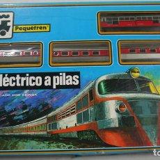 Trenes Escala: TREN ELÉCTRICO A PILAS - PEQUETREN . Lote 111638939