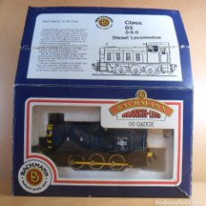 Trenes Escala: BACHMANN H0 - LOCOMOTORA DIESEL CLASE 3 BRITISH RAILWAYS - BR 03371 - CAJA ORIGINAL. Lote 111779227