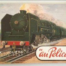 Trenes Escala: CATALOGO JUGUETES AU PELICAN 1949 EN FRANCES TRENES ELECTRICOS JEP HORNBY MECCANO. Lote 111863967