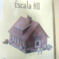Trenes Escala: ENTREGA 3 ESCALA HO TREN ELÉCTRICO CASA PARA MONTAR . Lote 111943443