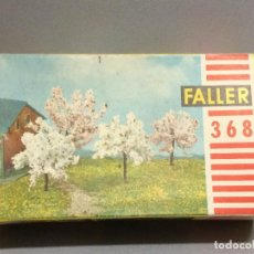 Trenes Escala: FALLER 368 - ARBOLES PARA MODELISMO FERROVIARIO. Lote 112285547