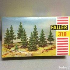Trenes Escala: FALLER 318 - ARBOLES PARA MODELISMO FERROVIARIO EN ESCALA H0. Lote 112285735