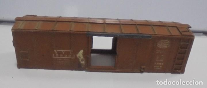 Trenes Escala: LOTE DE TRENES LIONEL. LOCOMOTORA, VAGON, VAGON GRUA, APARATO VIAS. BUEN ESTADO. VER FOTOS Y LEER - Foto 15 - 112317923