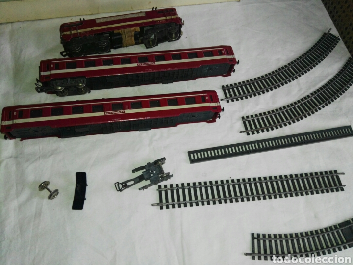 Trenes Escala: Despiece tren electrico antiguo jouef - Foto 11 - 112707144