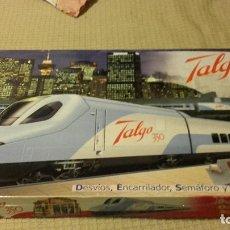 Trenes Escala: PEQUETREN TALGO 350 , JUGUETE ANTIGUO, VALTOY, VALENCIANA DE JUGUETES. Lote 188622410