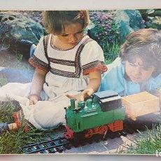 Trenes Escala: GEYPER TREN. ELÉCTRICO A BATERÍAS. MODELO 5105. PLÁSTICO. COMPLETO. CIRCA 1970. . Lote 112988179