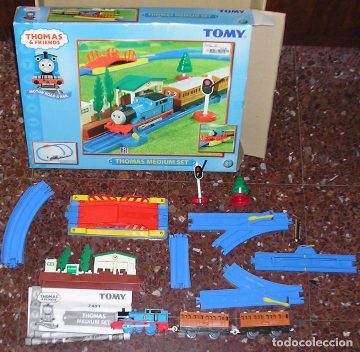 TREN CIRCUITO THOMAS & FRIENDS COMPLETO (Juguetes - Trenes - Varios)