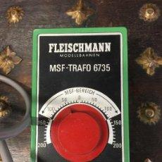 Trenes Escala: FLEISCHMANN. MSF-TRAFO 6735. 220 V,. Lote 114916475