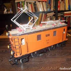 Trenes Escala: LGB LOCOMOTORA MEDIDA: 40 CMS. LARGO (SR). Lote 115232699