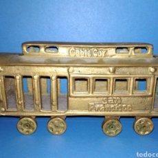 Trenes Escala: RARO, UNICO CABIE CAR, SAN FRANCISCO VAGON BRONCE. Lote 115340243