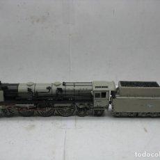 Trenes Escala: LILIPUT - REF: 10502 - LOCOMOTORA DE VAPOR CON TENDER 05 003 CORRIENTE CONTINUA - ESCALA H0. Lote 115482579